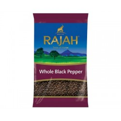Rajah Whole Black Pepper 400g