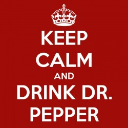 Dr Pepper Flavour...